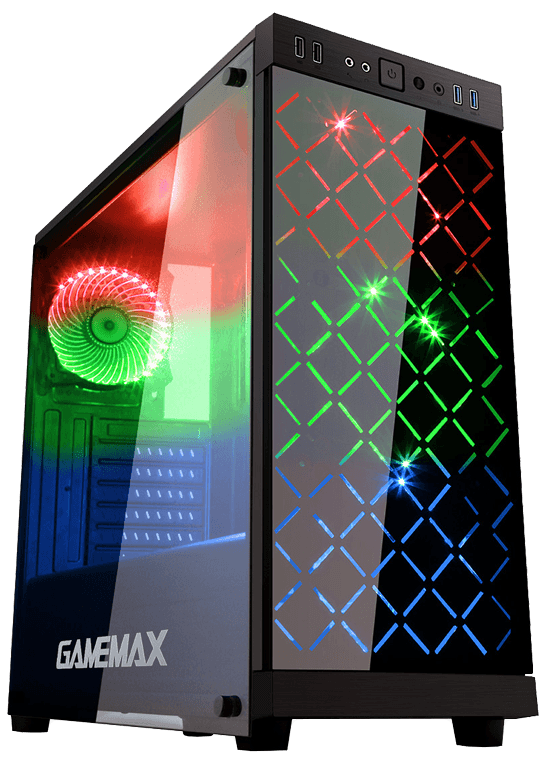 game-max-polaris-rgb-mid-tower-atx-3-x-rgb-fans-tempered-glass-side-and-front