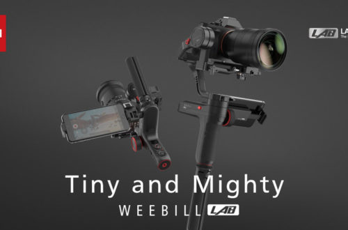 Zhiyun introduces WEEBILL LAB stabilizer for mirrorless cameras