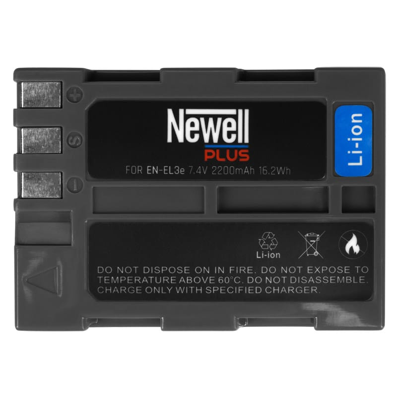 Аккумулятор Newell Nikon EN-EL3e plus
