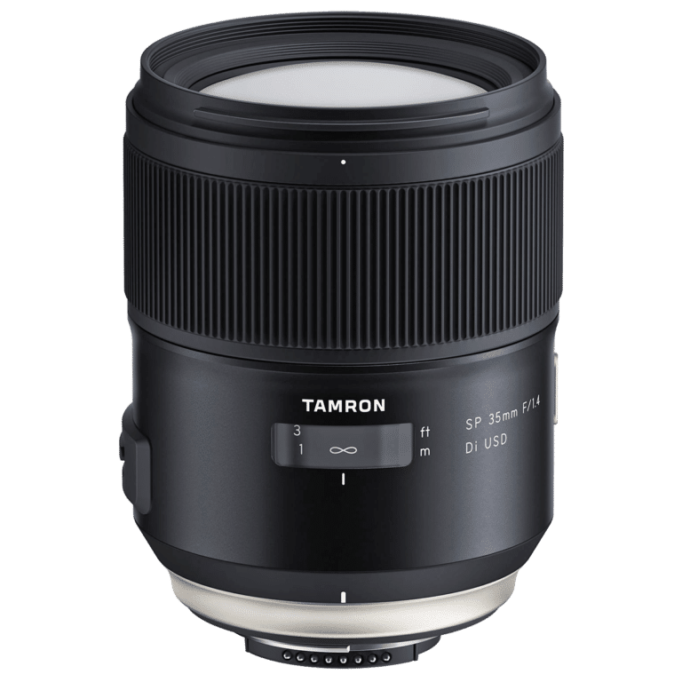 Объектив Tamron SP 35mm f/1.4 Di USD для Canon EF и Nikon F png