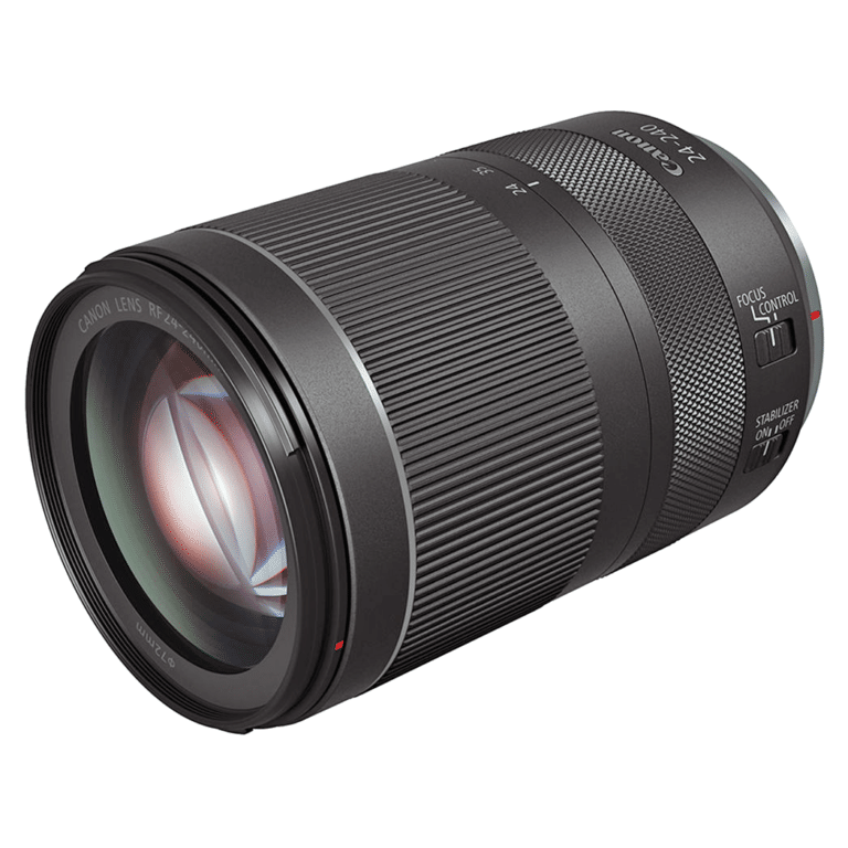 Объектив Canon RF 24-240mm f/4-6.3 IS USM - вид спереди