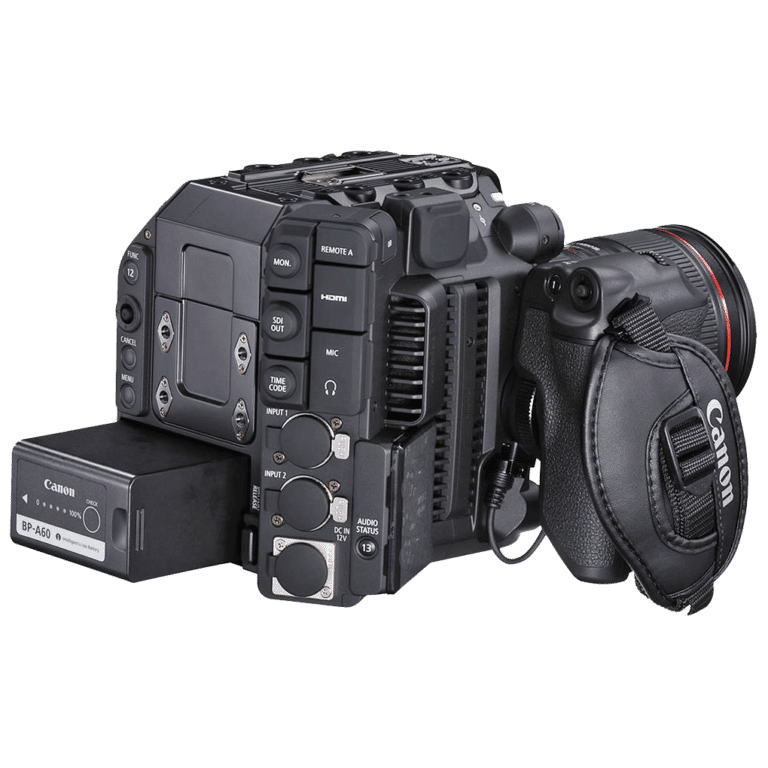 Кинокамера Canon C300 Mark III - вид сзади