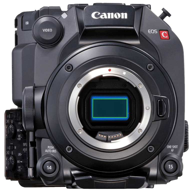 Кинокамера Canon C300 Mark III - вид спереди
