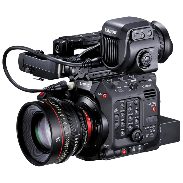 Кинокамера Canon C300 Mark III - с видоискателем