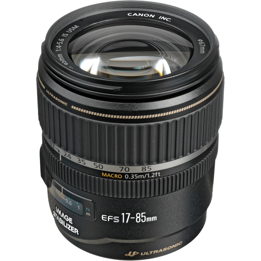 Объектив Canon EF-S 17-85mm f/4-5.6 IS USM PNG