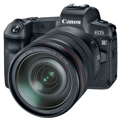 Фотоаппарат Canon EOS R png