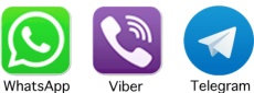 whatsapp-viber-telegram icon